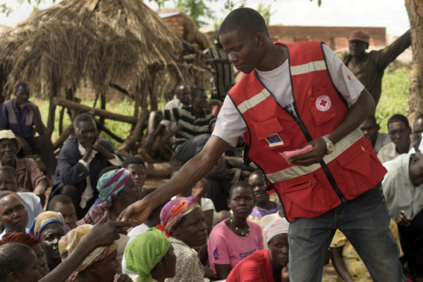 DRK helping people