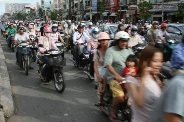 Traffic Road Vietnam