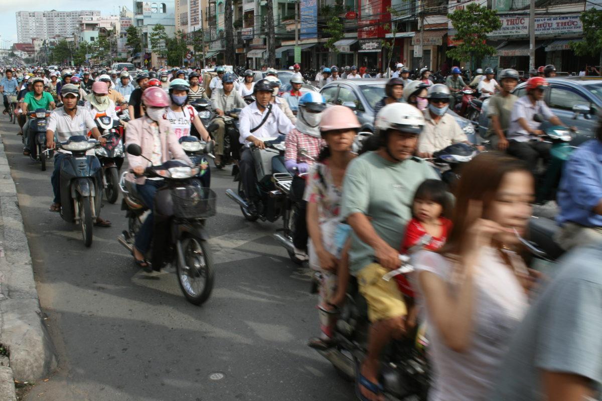 Traffic Road Vietnam