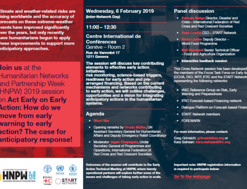 Humanitarian Networks and Partnership Week 2019
