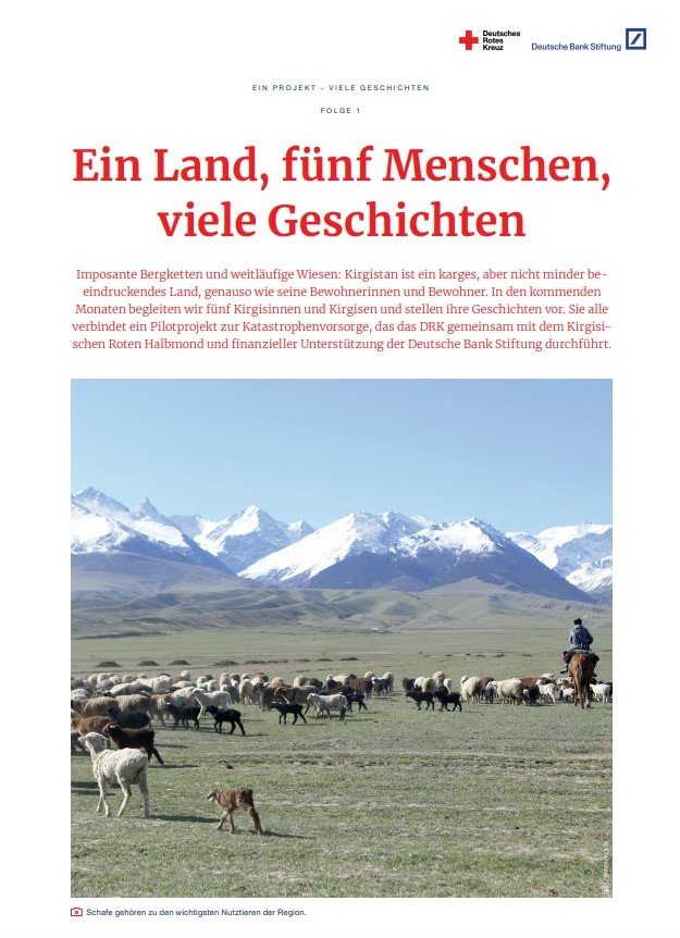 Cover image of a report that shows a landscape