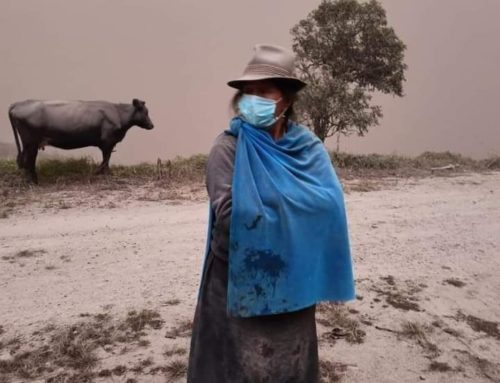 Early Actions will support Ecuadorian families to face volcanic ash fall