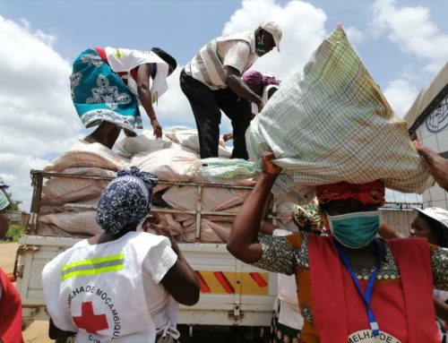 Mozambique Red Cross taking early action as Tropical Cyclone Eloise brings strong winds and rains